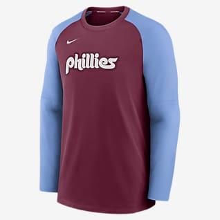 Nike Dri-FIT Pregame (MLB Philadelphia Phillies) Men's Long-Sleeve Top