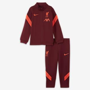 Liverpool FC Strike Трикотажный футбольный костюм для малышей