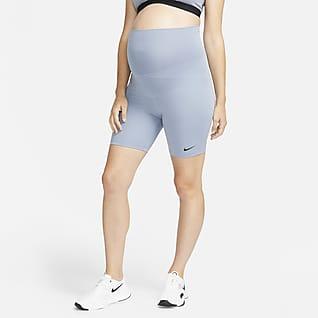 Nike One (M) Dri-FIT Graviditetsshorts (18 cm) til kvinder