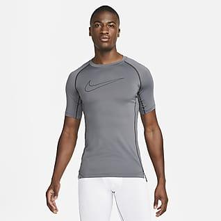 Nike Pro Dri-FIT Ανδρική κοντομάνικη μπλούζα με στενή εφαρμογή