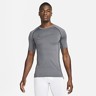 Nike Pro Dri-FIT Kortärmad tröja med tajt passform för män
