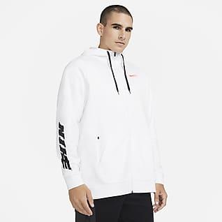 Nike Therma Sport Clash Ανδρική μπλούζα προπόνησης με κουκούλα και φερμουάρ σε όλο το μήκος