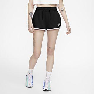 Nike Sportswear Heritage Pantalón corto de tejido Fleece - Mujer