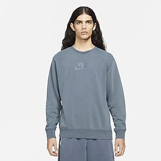 Nike Sportswear Essentials+ Sudadera de cuello redondo de French Terry para hombre