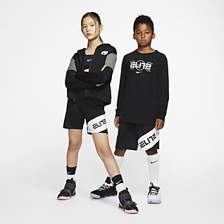Nike Elite Basketbalshorts met graphic voor kids