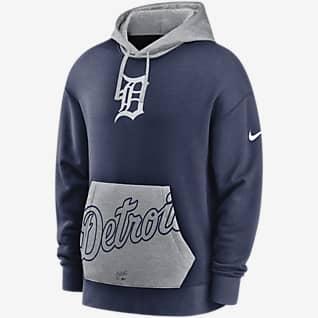 Nike Heritage (MLB Detroit Tigers) Men's Pullover Hoodie