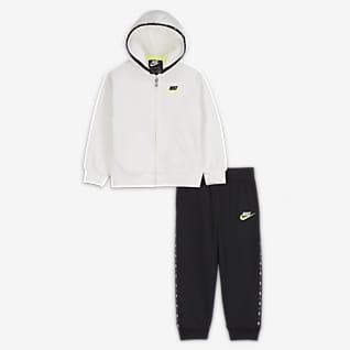 Nike Conjunto de sudadera con capucha y jogger - Bebé (12-24M)