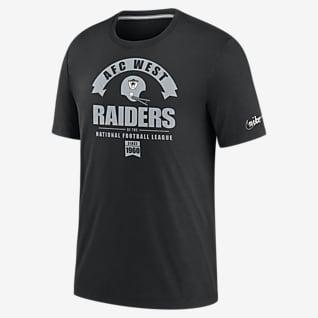 Nike Historic (NFL Raiders) Tri-Blend-T-Shirt für Herren