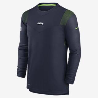 Nike Dri-FIT Sideline Player UV (NFL Seattle Seahawks) Men's Long-Sleeve T-Shirt