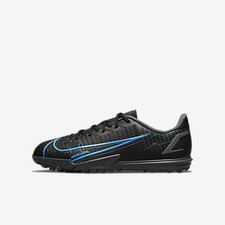 Nike Jr. Mercurial Vapor 14 Academy TF Little/Big Kids' Turf Soccer Shoe