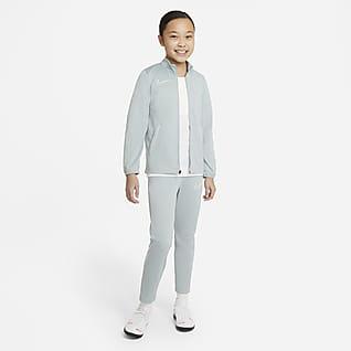 Nike Dri-FIT Academy Dzianinowy dres piłkarski dla dużych dzieci