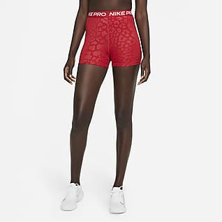 "Nike Pro Dri-FIT Women's High-Waisted 3"" Printed Shorts"