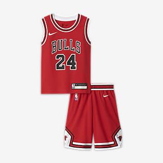 Chicago Bulls Replica Coffret maillot et short Nike NBA pour Jeune garçon