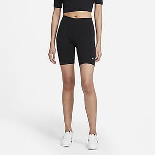 Nike Sportswear Essential กางเกงปั่นจักรยานขาสั้นผู้หญิง