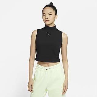 Nike Sportswear Collection Essentials 女子无袖企领上衣