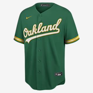MLB Oakland Athletics (Khris Davis) Men's Replica Baseball Jersey