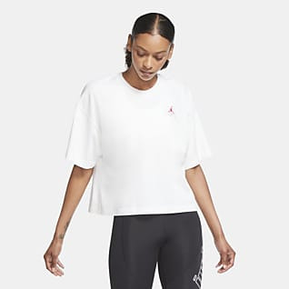 Jordan Essential Kurzarm-T-Shirt mit weitem Schnitt für Damen