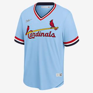 MLB St. Louis Cardinals (Ozzie Smith) Men's Cooperstown Baseball Jersey
