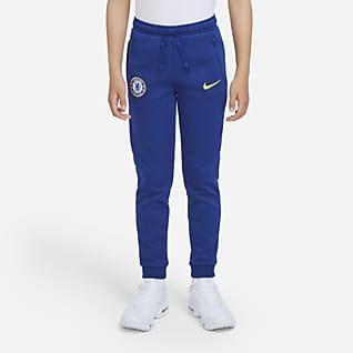 Chelsea FC Nike Dri-FIT Genç Çocuk Futbol Eşofman Altı