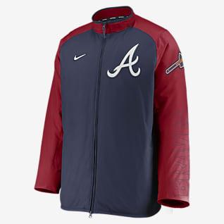 Nike Dugout (MLB Atlanta Braves) Men's Full-Zip Jacket