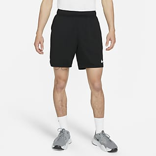 Nike กางเกงเทรนนิ่งขาสั้นตาข่ายผู้ชาย