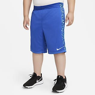 Nike Dri-FIT Trophy Big Kids' (Boys') Printed Training Shorts (Extended Size)