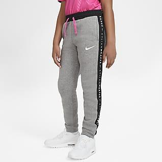 Kylian Mbappé Pantalones de fútbol de tejido Fleece para niños talla grande