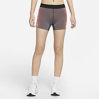Nike AeroSwift Tettsittende løpeshorts til dame