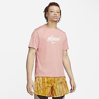 Nike Rise 365 Wild Run Ανδρική κοντομάνικη μπλούζα για τρέξιμο