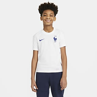 FFF 2020 Stadium de visitante Camiseta de fútbol para niños talla grande