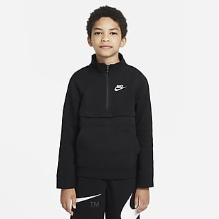 Nike Sportswear Club Haut à demi-zip pour Garçon plus âgé