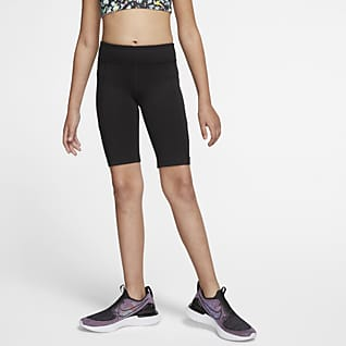 Nike Trophy Shorts da ciclista da training - Ragazza