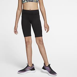 Nike Trophy Træningscykelshorts til store børn (piger)