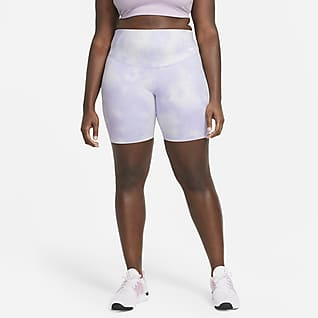 "Nike One Icon Clash Women's 7"" Printed Shorts (Plus Size)"