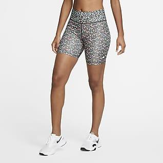 Nike One Damen-Bikeshorts (ca. 18 cm)