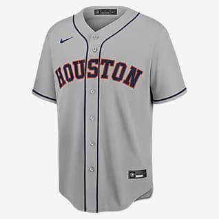 MLB Houston Astros (Yordan Alvarez) Men's Replica Baseball Jersey