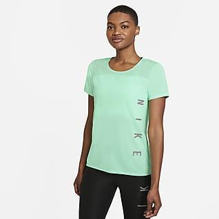 Nike Miler Run Division Haut de running à manches courtes pour Femme