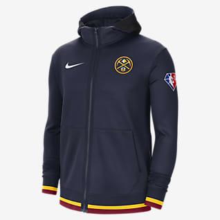 Denver Nuggets Nike Showtime Men's Nike Dri-FIT NBA Full-Zip Hoodie