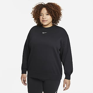 Nike Sportswear Collection Essentials Γυναικείο φλις crew (μεγάλα μεγέθη)