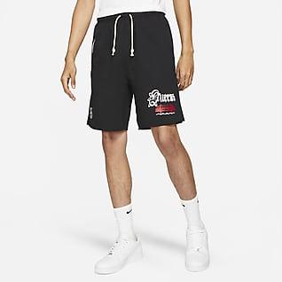 """Nike Standard Issue """"Lincoln Park"""" Men's Basketball Fleece Shorts"""