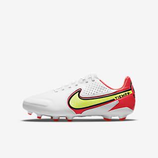 Nike Jr. Tiempo Legend 9 Pro FG Fotbollssko för gräs för ungdom