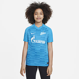 Εντός έδρας Ζενίτ Αγίας Πετρούπολης 2021/22 Stadium Ποδοσφαιρική φανέλα Nike Dri-FIT για μεγάλα παιδιά