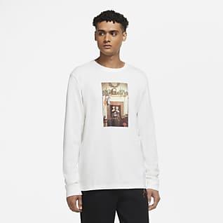 Jordan Jumpman Chimney Langermet T-skjorte til herre