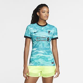 Liverpool FC 2020/21 Stadium de visitante Camiseta de fútbol para mujer