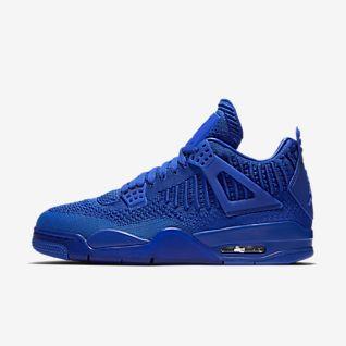 nike air jordan blue running shoes