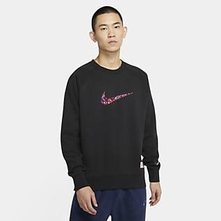 Nike Sportswear 男子长袖起绒圆领上衣