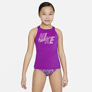 Nike Spiderback Big Kids' (Girls') Tankini