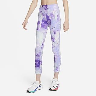 Nike One Leggings estampados tie-dye para niña talla grande