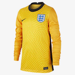Stadium Goalkeeper Inglaterra 2020 Camisola de futebol Júnior