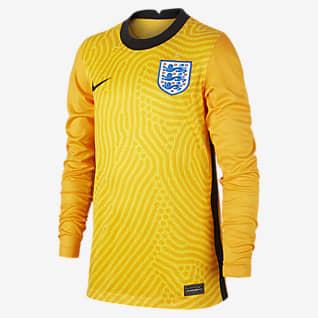 Angleterre 2020 Stadium Gardien de but Maillot de football pour Enfant plus âgé
